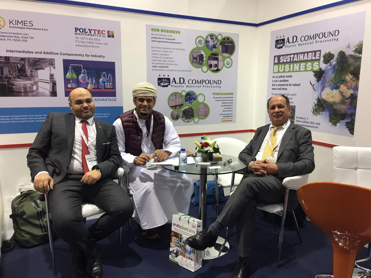 El Safwa Plastic Participation in the Arab Plast Exhibition - Dubai 2019